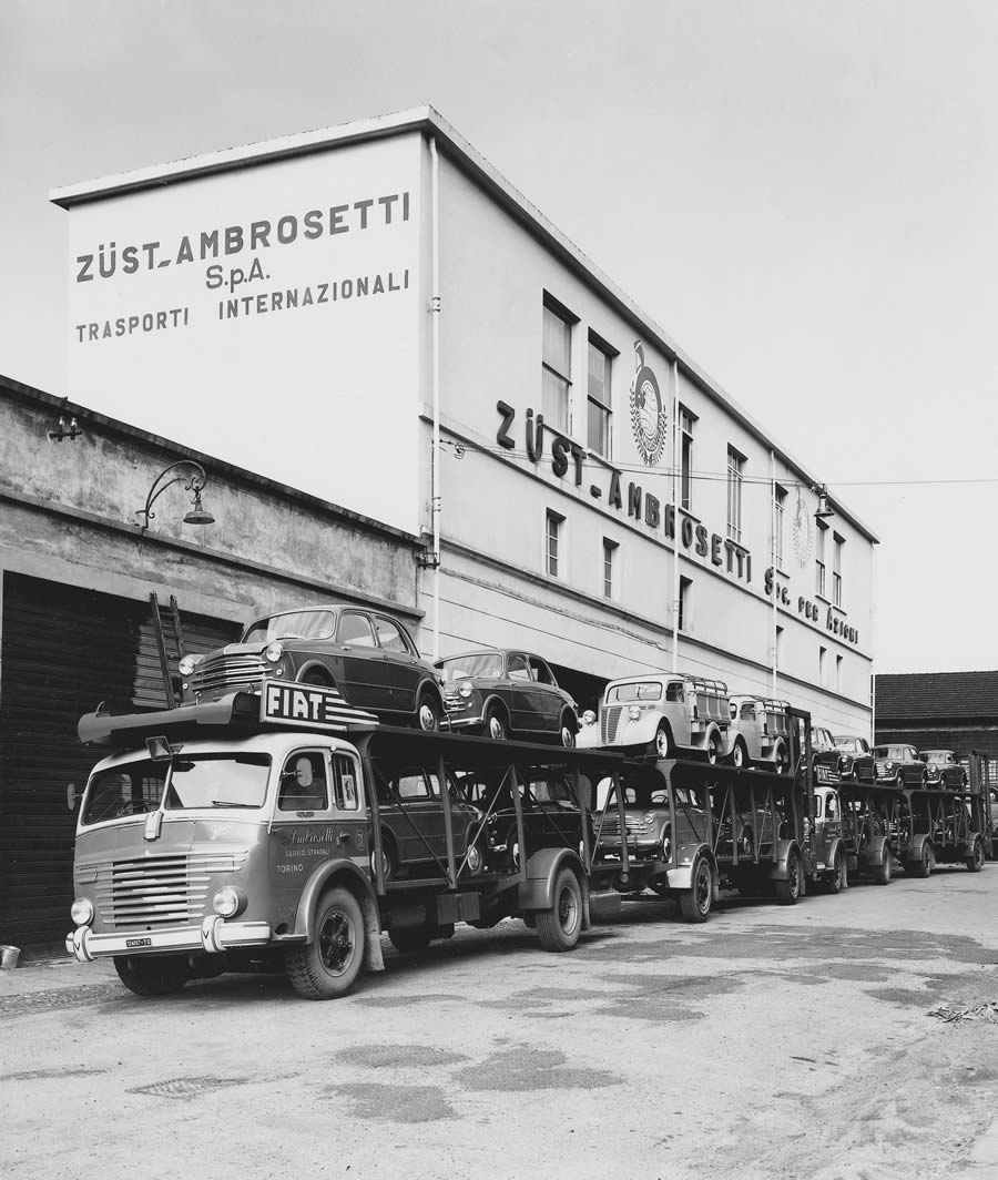 Autotransporter 50er Jahre