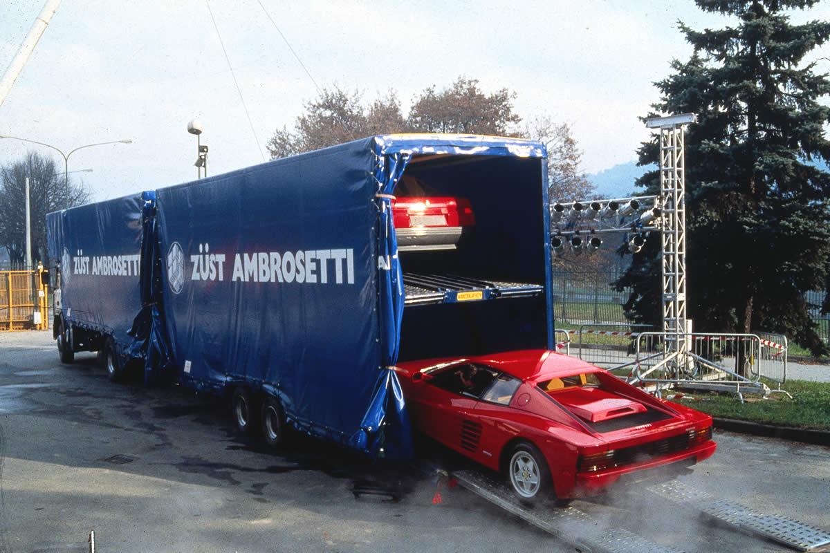 trasporto Ferrari