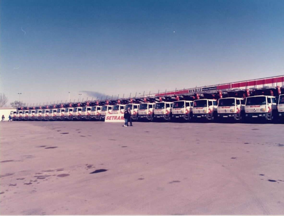 SETRAM Flotte