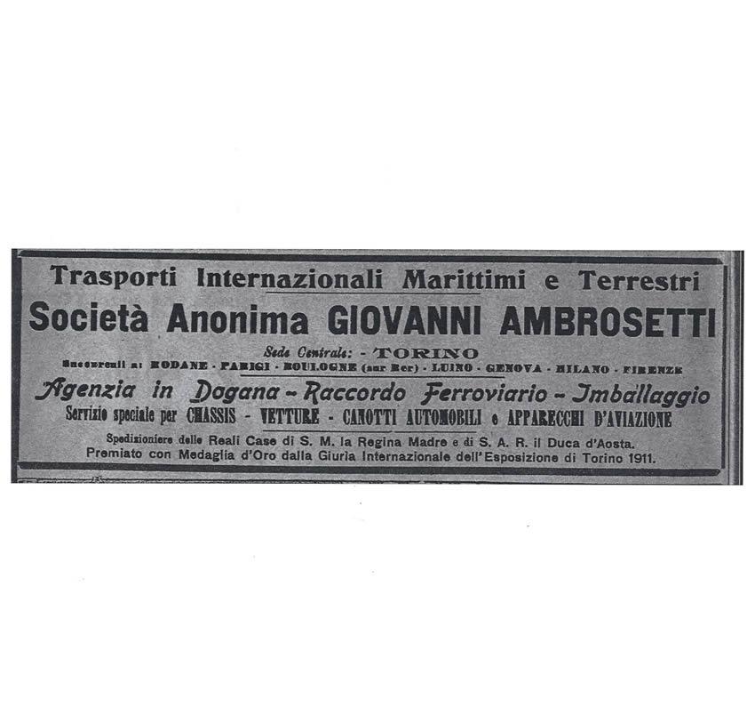 G. Ambrosetti è insignita con la medaglia d'oro