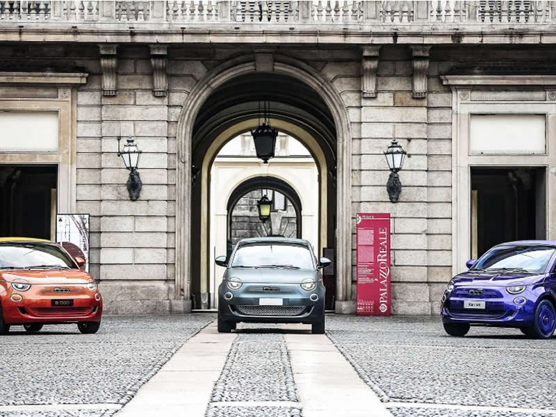 Fiat 500 electric to restart Italy