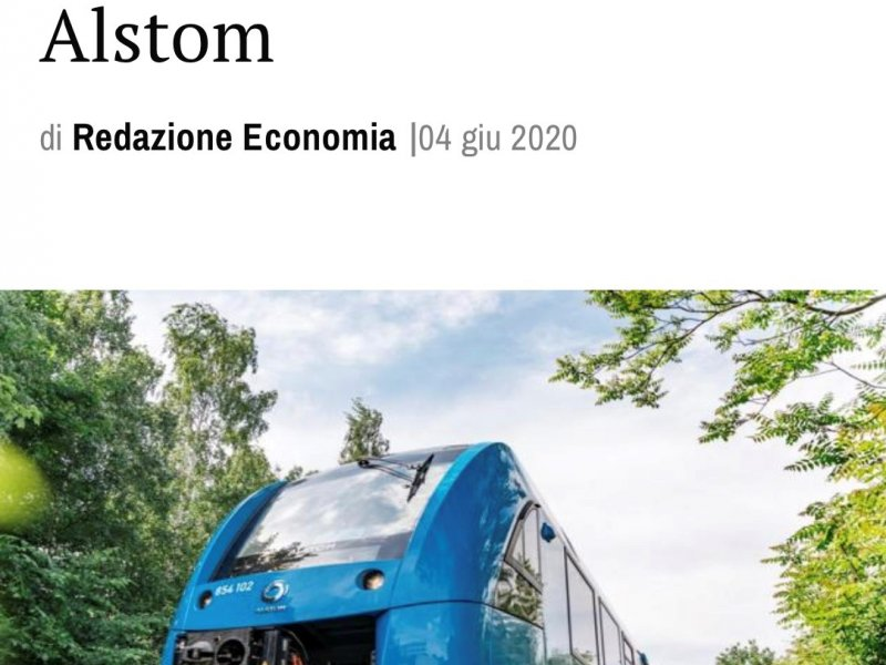 Hydrogen trains in Italy