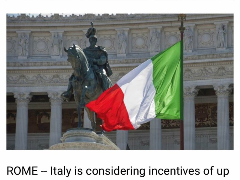 Italy considers scrapping subsidies to boost sales