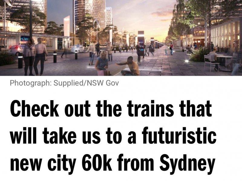 Un'occhiata ai treni futuristici