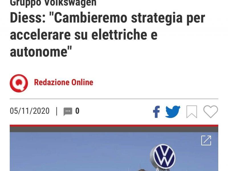 VW: in futuro più elettriche e autonome