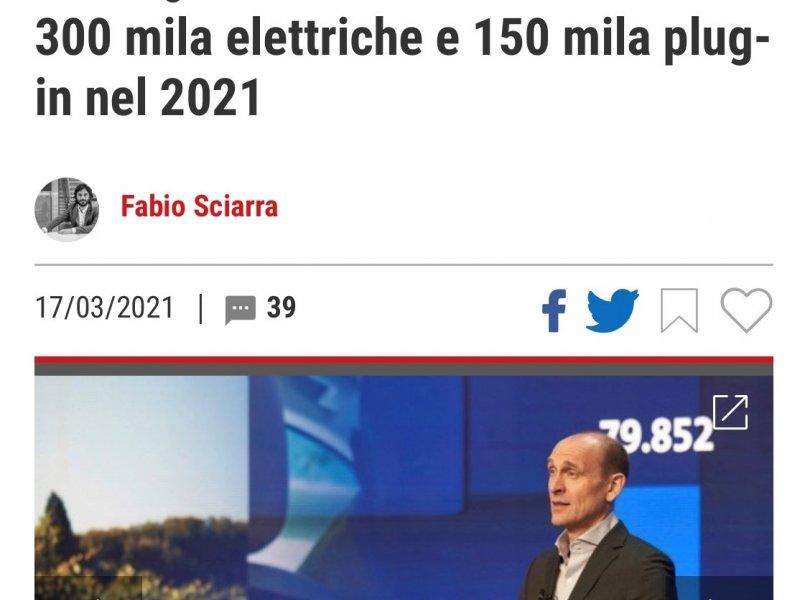 VW 300 mila elettriche e 150 mila plug-in nel 2021