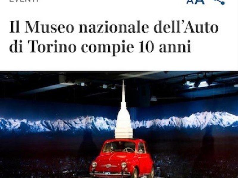 Il Museo dell'Auto di Torino compie 10 anni