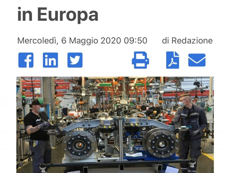 300 automotive factories reopen in Europe